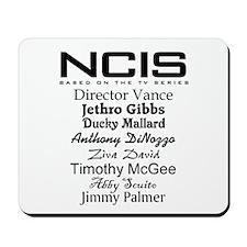 NCIS Characters Mousepad
