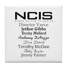 NCIS Characters Tile Coaster
