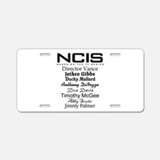 NCIS Characters Aluminum License Plate