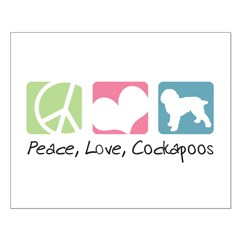 Peace, Love, Cockapoos Posters