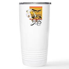 Samurai Jack Fights Aku Travel Mug