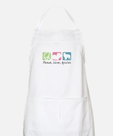 Peace, Love, Aussies Apron