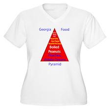 Georgia Food Pyramid T-Shirt