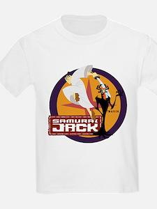 Samurai Jack With Aku T-Shirt