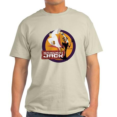 Samurai Jack With Aku Light T-Shirt