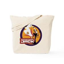 Samurai Jack With Aku Tote Bag