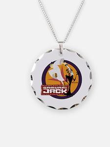 Samurai Jack With Aku Necklace