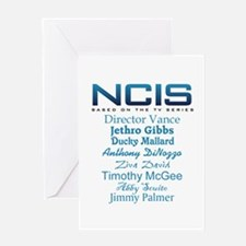 NCIS Characters Greeting Card