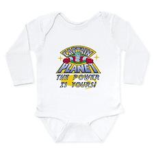 Captain Planet Power Long Sleeve Infant Bodysuit