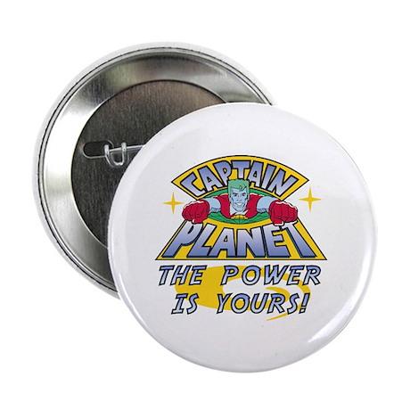 """Captain Planet Power 2.25"""" Button (10 pack)"""