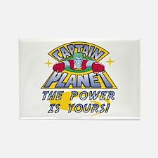 Captain Planet Power Rectangle Magnet