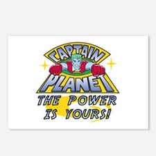 Captain Planet Power Postcards (Package of 8)