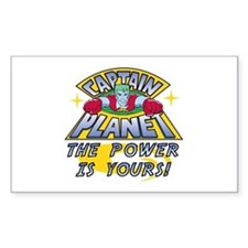 Captain Planet Power Decal