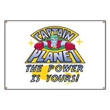 Captain Planet Power Banner
