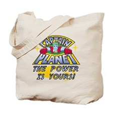 Captain Planet Power Tote Bag