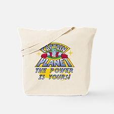 Captain Planet Power Tote Bag