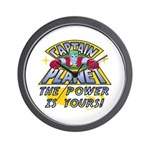 Captain Planet Power Wall Clock
