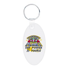 Captain Planet Power Keychains