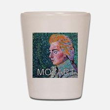 Mozart in a Whirl Shot Glass