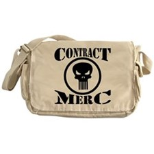 Contract Merc Skull Messenger Bag