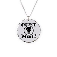 Contract Merc Skull Necklace