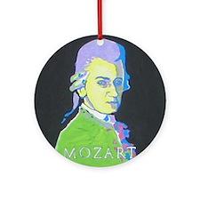 Yellow Mozart Ornament (Round)