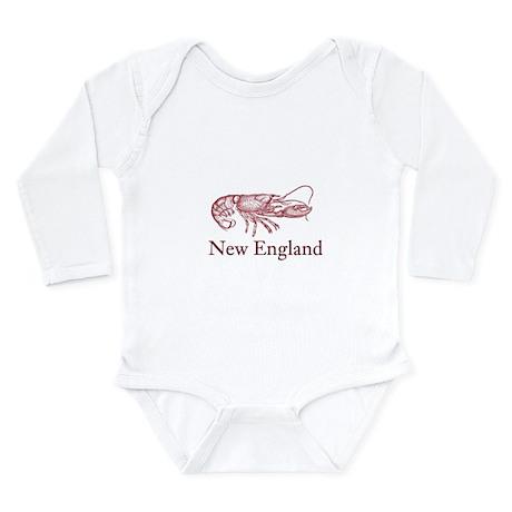 New England Long Sleeve Infant Bodysuit