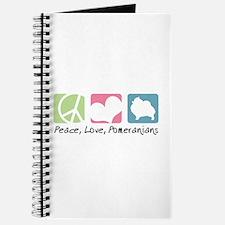 Peace, Love, Pomeranians Journal