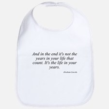Abraham Lincoln quote 8 Bib