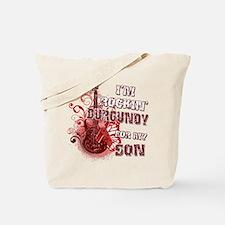 I'm Rockin' Burgundy for my S Tote Bag