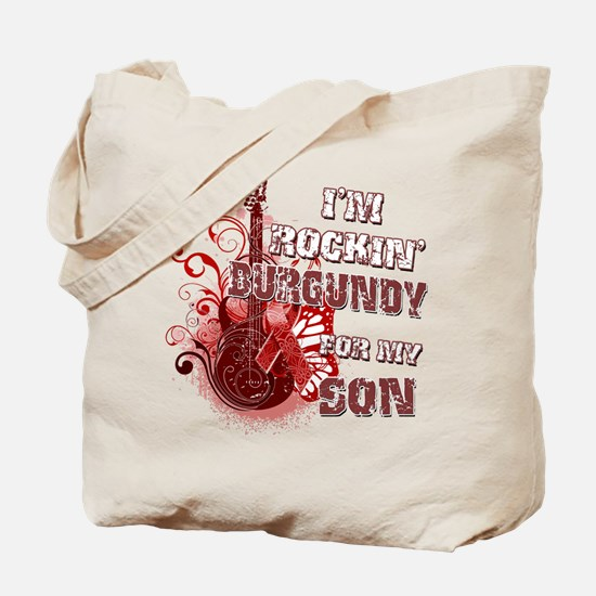 I'm Rockin' Burgundy for my S Tote Bag