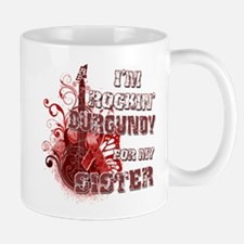 I'm Rockin' Burgundy for my S Mug