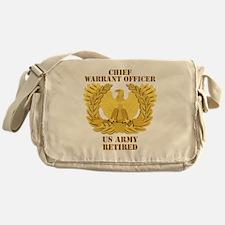Army - Emblem - CWO Retired Messenger Bag