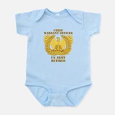 Army - Emblem - CWO Retired Infant Bodysuit