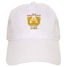 Army - Emblem - CWO Retired Baseball Cap
