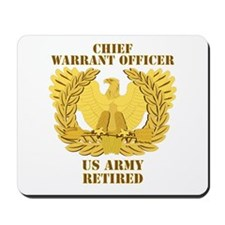 Army - Emblem - CWO Retired Mousepad