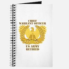 Army - Emblem - CWO Retired Journal
