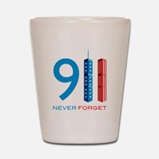 911 Never Forget Shot Glass