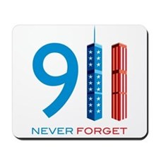 911 Never Forget Mousepad