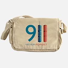 911 Never Forget Messenger Bag