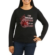 I'm Rockin' Burgundy for my F T-Shirt
