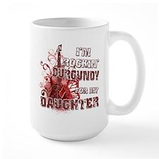 I'm Rockin' Burgundy for my D Mug