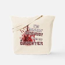 I'm Rockin' Burgundy for my D Tote Bag
