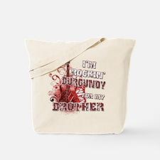 I'm Rockin' Burgundy for my B Tote Bag