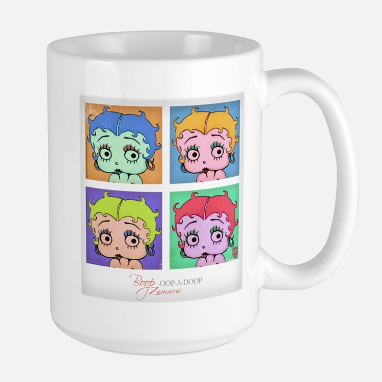 Betty Boop Pop Art Mugs