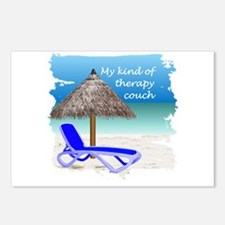 Therapy Couch Postcards (Package of 8)