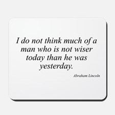 Abraham Lincoln quote 40 Mousepad