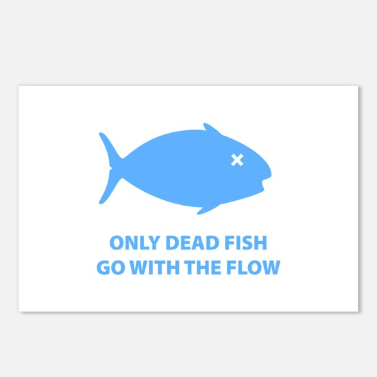 Go With The Flow Postcards (Package of 8)