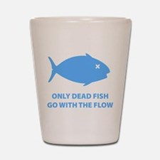 Go With The Flow Shot Glass