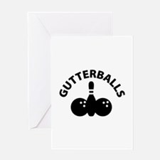 Gutterballs Greeting Card